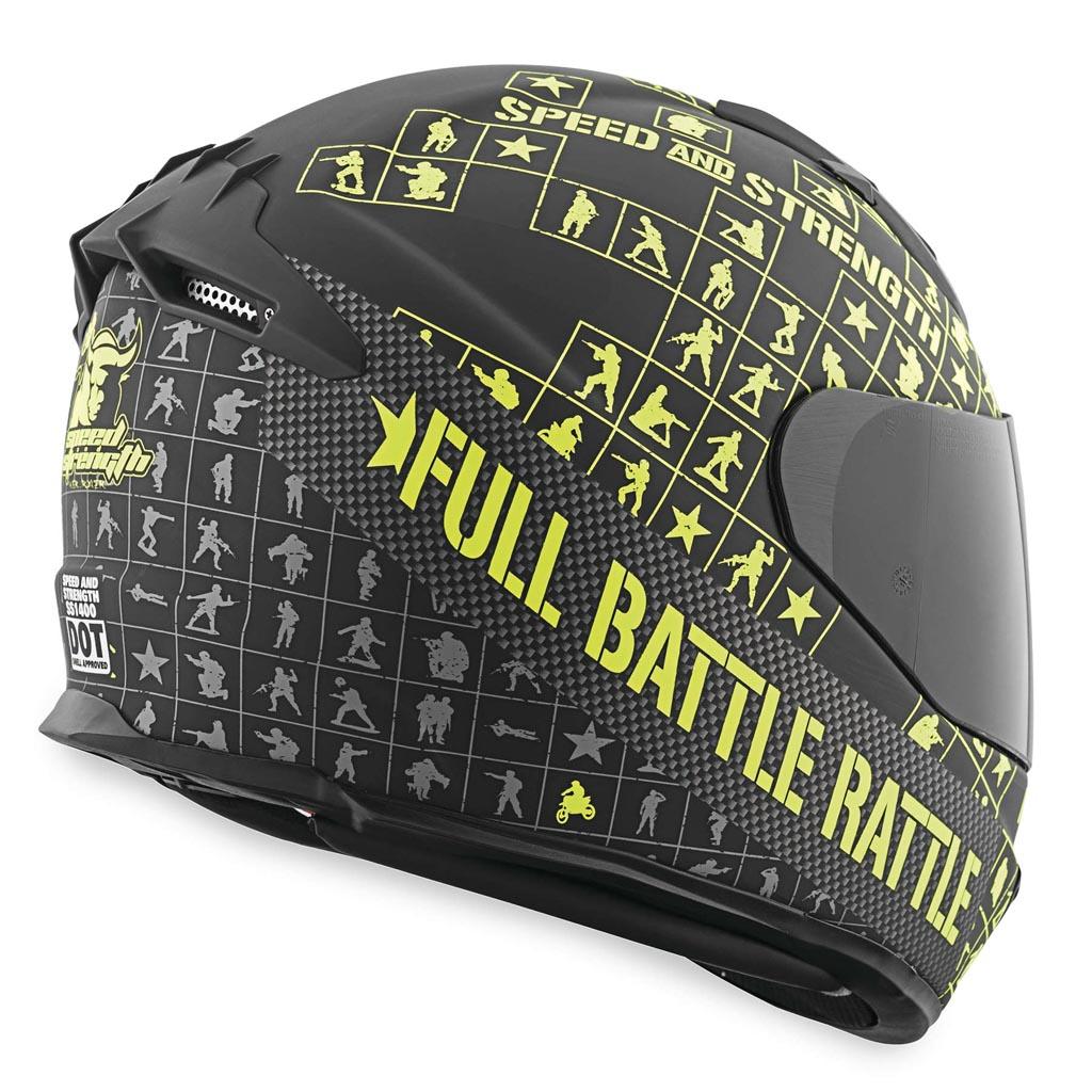 Hjc Fg 17 >> Speed and Strength SS1400 Full Battle Rattle Helmet ...